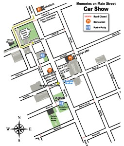 Map of Main St