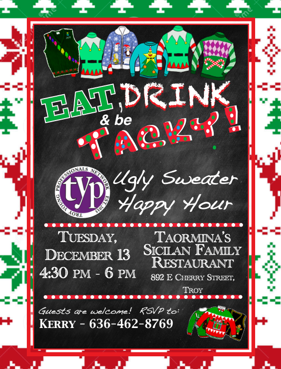 2016 YpHappy hour Ugly Sweater 1